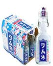 日本の味ラムネ 200ml瓶 (6本クラスタパック)