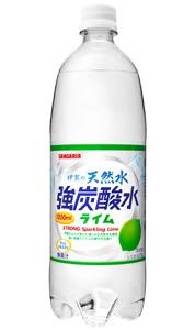 強炭酸水ライム1000ml