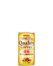コクと香りのクオリティコーヒー 微糖 185g缶