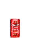 コクと香りのクオリティコーヒー 炭焼 185g缶