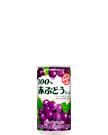 100% 赤ぶどうジュース 190g缶