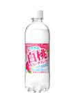 伊賀の天然水白桃スパークリング 500mlペット